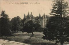 Lubersac Le Parc et le Chateau - Lubersac