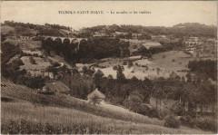 Vignols-Saint-Solve Moulin et les viaducs - Vignols