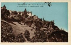 Servieres-le-Chateau - Le Preventorium vu des Bords de la Glane - Servières-le-Château