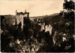 Ruines de Merle sur la Maronne - Environs d'Argentat et Saint-Privat - Saint-Privat