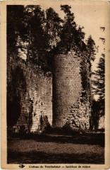 Moustier-Ventadour - Chateau de Ventadour - Interieur de Ruines - Moustier-Ventadour