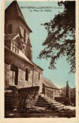 Servieres-le-Chateau - La Place de l'Eglise - Servières-le-Château