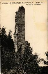 Moustier-Ventadour - Ruines du Chateau de Ventadour - Moustier-Ventadour