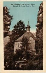 Servieres-le-Chateau - Chapelle de Notre-Dame du Roc - Servières-le-Château