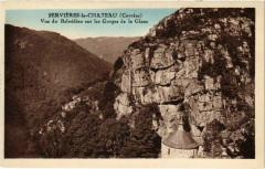 Servieres-le-Chateau - Vue de Belvedere - Servières-le-Château