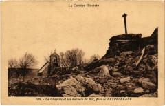 La Chapelle et les Rochers du Rat - pres de Peyrelevade - Peyrelevade