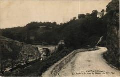 Anzeme La Route et le Pont du Diable France - Anzême