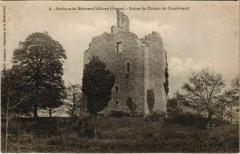 Ruines du Chateau de Chamborand France - Chamborand