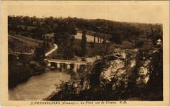 Fresselines Le Pont sur la Creuse France - Fresselines