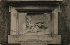 Fresselines Bas-Relief du Poete Rollinat France - Fresselines