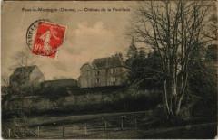 Faux-la-Montagne Chateau de la Feuillade France - Faux-la-Montagne