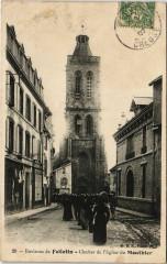 Env.de Felletin Clocher de l'Eglise du Mouthier France - Felletin