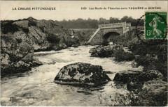 Les Bords du Thaurion entre Valliere et Royere France - Vallière