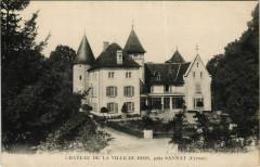 Chateau de la Ville du Bois pres Sannat France - Sannat