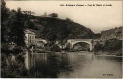 Anzeme Pont du Diable et Moulin France - Anzême