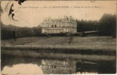 Le Grand-Bourg - Chateau de Laribe et l'Eglise - Le Grand-Bourg