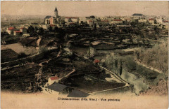 Chateauponsac Vue générale - Châteauponsac