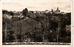 Chateauponsac Vue Sud-Ouest - Bords de la Gartempe - Châteauponsac