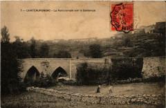 Chateauponsac Le pont Romain sur la Gartempe - Châteauponsac