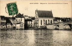Saint-Junien Megisseries - Notre-Dame et Pont sur la Vienne - Saint-Junien