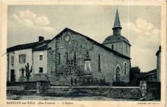 Sauviat-sur-Vige Eglise - Sauviat-sur-Vige
