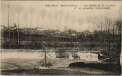 Solignac - Les Bords de la Briance et vue générale - Solignac