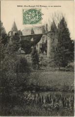 Nieul - Le Chateau vu de Derriere - Nieul