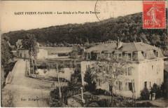 Saint-Priest-Taurion - Les Hotels et le Pont du Taurion - Saint-Priest-Taurion
