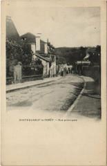 Chateauneuf-la-Foret - Rue principale - Châteauneuf-la-Forêt