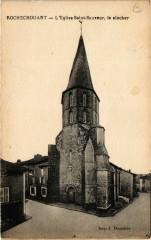 Rochechouart - L'Eglise Saint-Sauveur le clocher - Rochechouart