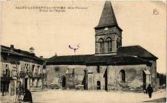 Saint-Laurent-sur-Gorre Place de l'Eglise - Saint-Laurent-sur-Gorre