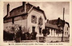 Bersac-sur-Rivalier (Hte-Vienne) - La Poste et les Ecoles - Bersac-sur-Rivalier
