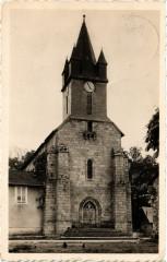 Bujaleuf (Hte-Vienne) - Place de l'Eglise - Bujaleuf