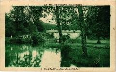 La Haute-Vienne Illustrée - Nantiat - Pont de la Creche - Nantiat