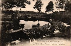Lauriere (Haute-Vienne) - L'Ardour a la Carderie - Laurière