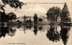 Nieul (H.-V.) - Vue sur le lac site unique en limousin - Nieul