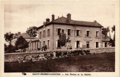 Saint-Priest Ligoure (Hte-Vne) - Les Ecoles et la Mairie - Saint-Priest-Ligoure