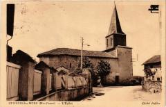 Saint-Denis-des-Murs (Hte-Vienne) - L'Eglise - Saint-Denis-des-Murs
