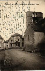 Saint-priest-Ligoure (Hte-Vienne) - Place de l'Eglise - Saint-Priest-Ligoure