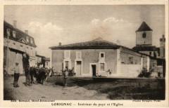 Lorignac - Intérieur du pays et l'Eglise - Lorignac