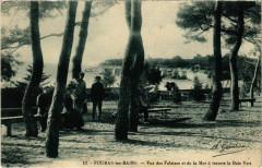 Fouras-les-Bains - Vue des Falaises et de la Mer a travers le Bois - Bois