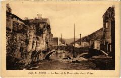 Saint-Pons - Le jaur et le Pont enre deux Villes - Pons