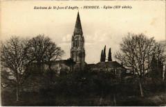 Environs de Saint-Jean-d'Angely - Fenioux - Eglise - Saint-Jean-d'Angély