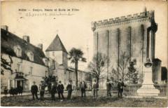 Pons - Donjon Mairie et Ecole de Filles - Pons
