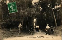 Ile d'Oleron - Saint-Trojan-les-Bains - Route de la Grande Plage - Saint-Trojan-les-Bains
