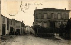 Le Gua - Grande Rue - Le Gua