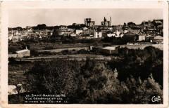 Saint-Martin-de-Re - Vue générale et les Ruines de l'Eglise - 1988 - Saint-Martin-de-Ré