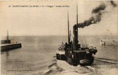 Ile de Ré - Saint-Martin-de-Ré - Le Coligny sortant du Port - Saint-Martin-de-Ré