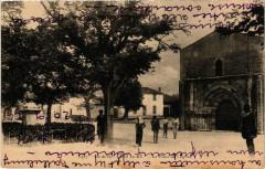 Ile-de-Re - Ars-en-Re - La Place de l'Eglise - Ars-en-Ré