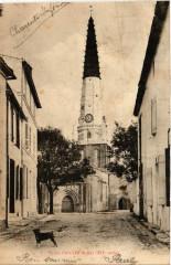 Ile-de-Re - Ars-en-Re - Eglise d'Ars - Ars-en-Ré